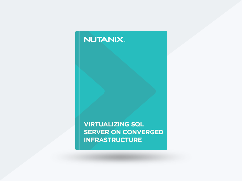 Virtualizing SQL Server on Converged Infrastructure