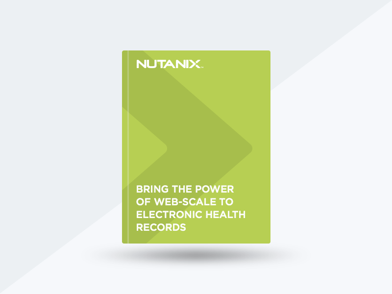 Epic EHR Runs on Nutanix